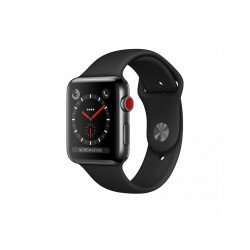 Apple Watch S3 42 mm Black Sport Band