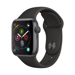 Apple Watch S4 40 mm Black Sport Band