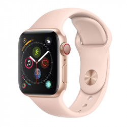 Apple Watch S4 40 mm Pink Sand Sport Band