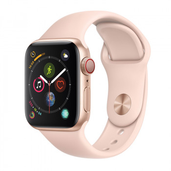 696, Apple Watch S4 40 mm Pink Sand Sport Band, , 33000 р., Apple Watch S4 40 mm Pink Sand Sport Band, Apple, Watch Series 4 40 mm