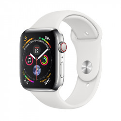 Apple Watch S4 40 mm White Sport Band